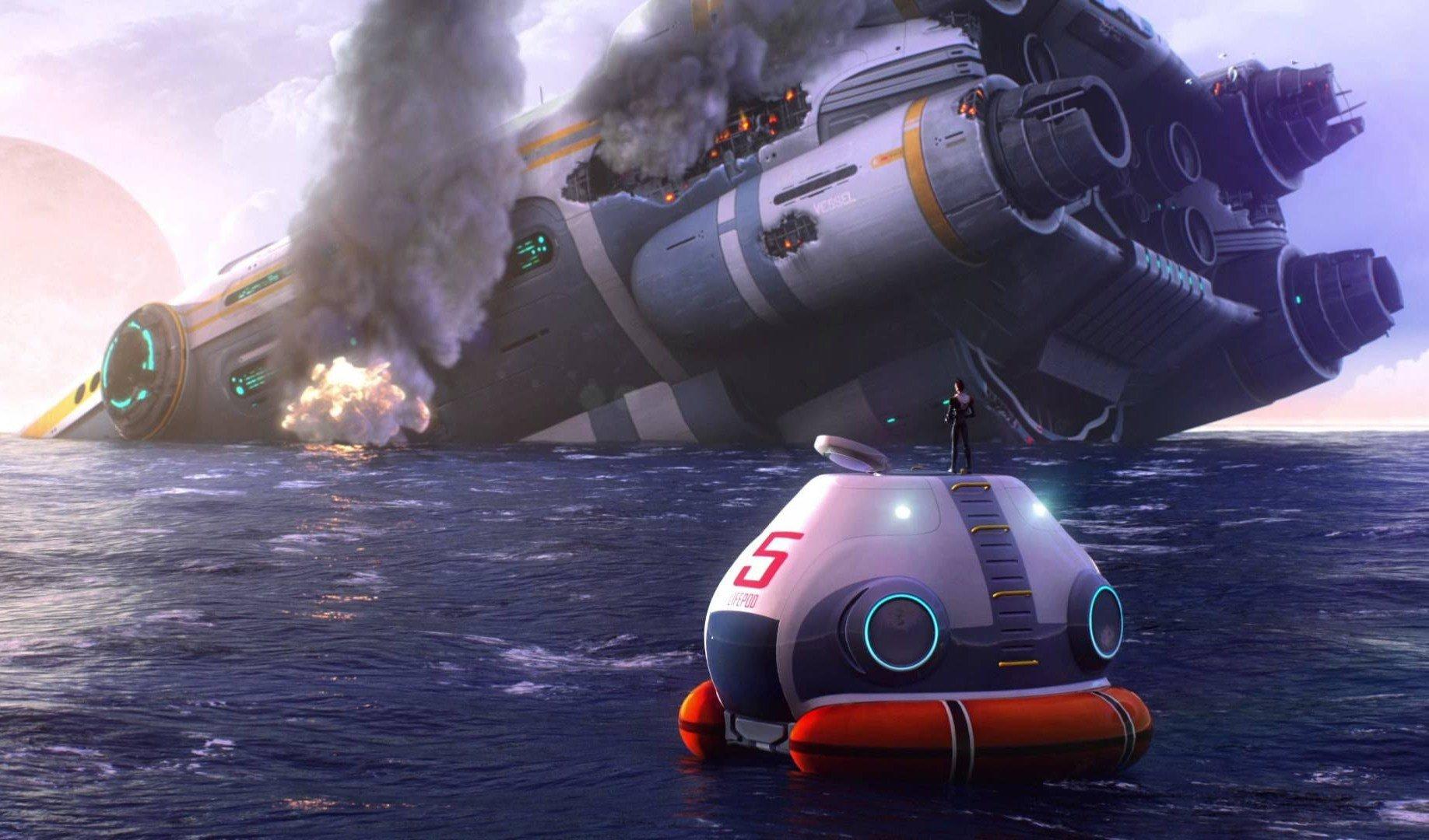 Скриншот к игре Subnautica [65786] (2018) скачать торрент RePack