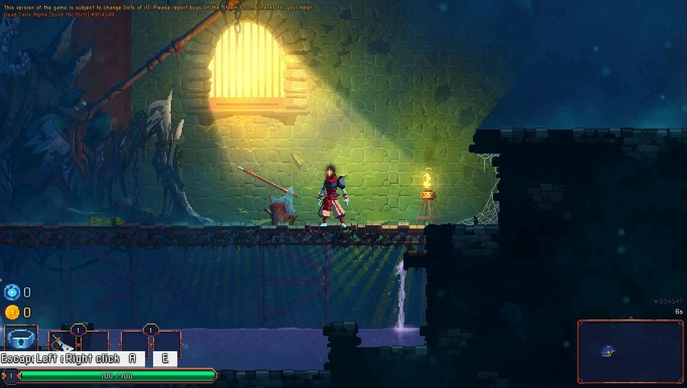 Скриншот к игре Dead Cells v.1.12.4 + 3 DLC [GOG] (2018) скачать торрент Лицензия