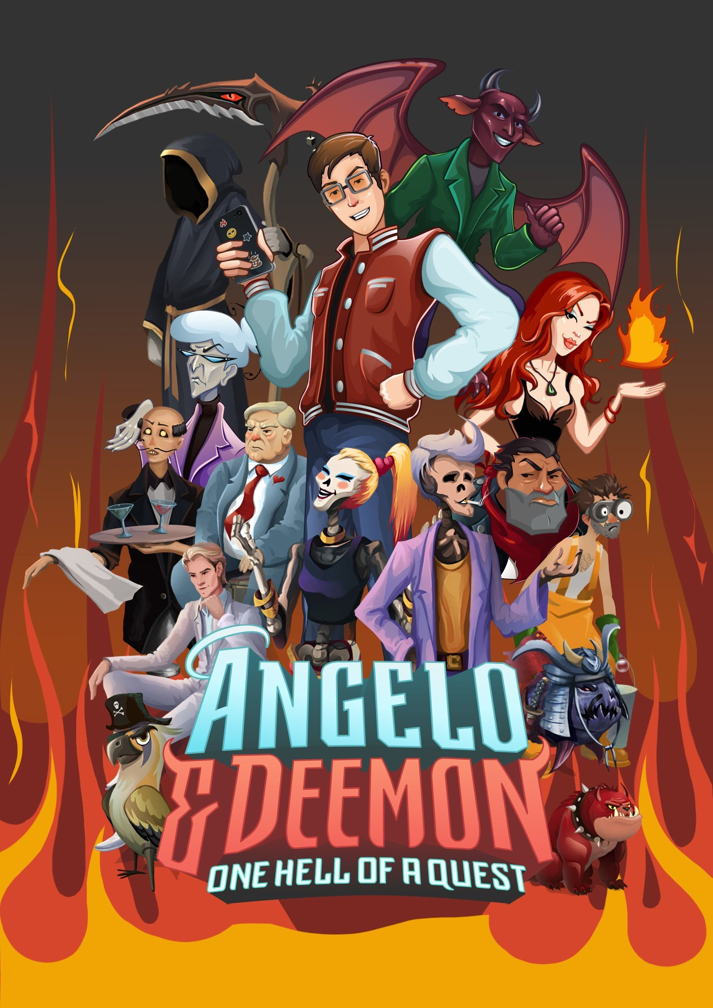 Angelo and Deemon: One Hell of a Ques