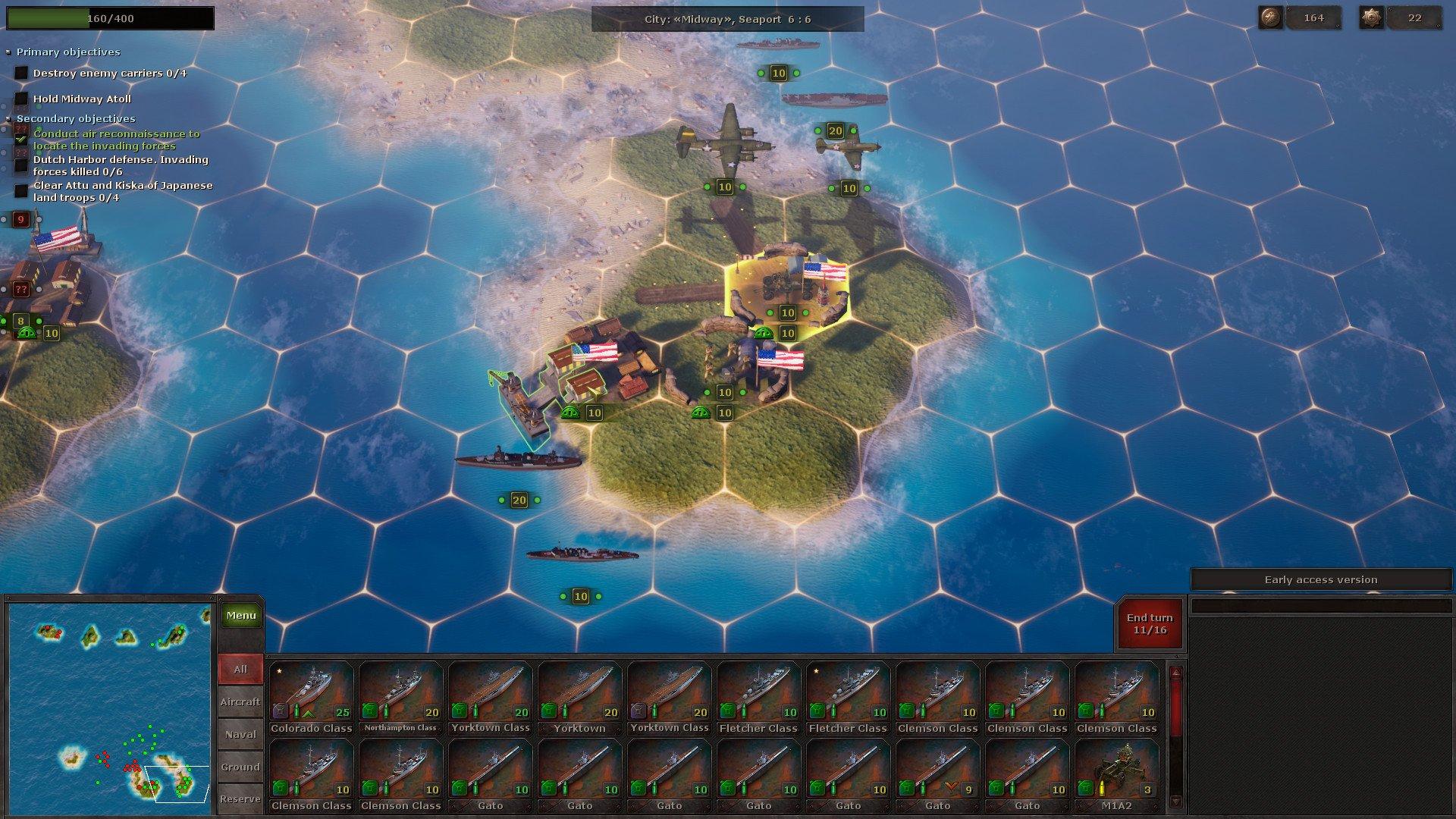 Скриншот к игре Strategic Mind The Pacific (v 2.02) (2019) скачать торрент RePack от xatab