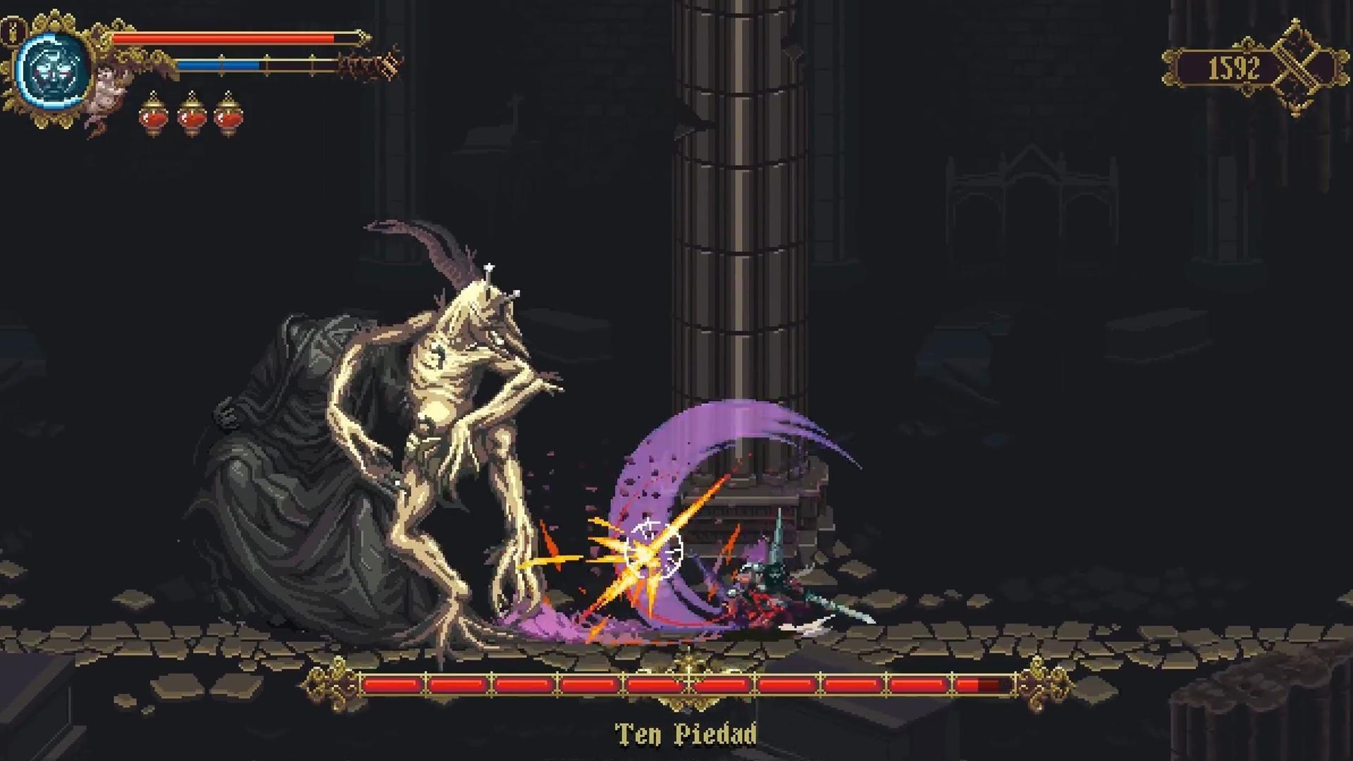 Скриншот к игре Blasphemous v.3.0.32a [GOG] (2019) скачать торрент Лицензия