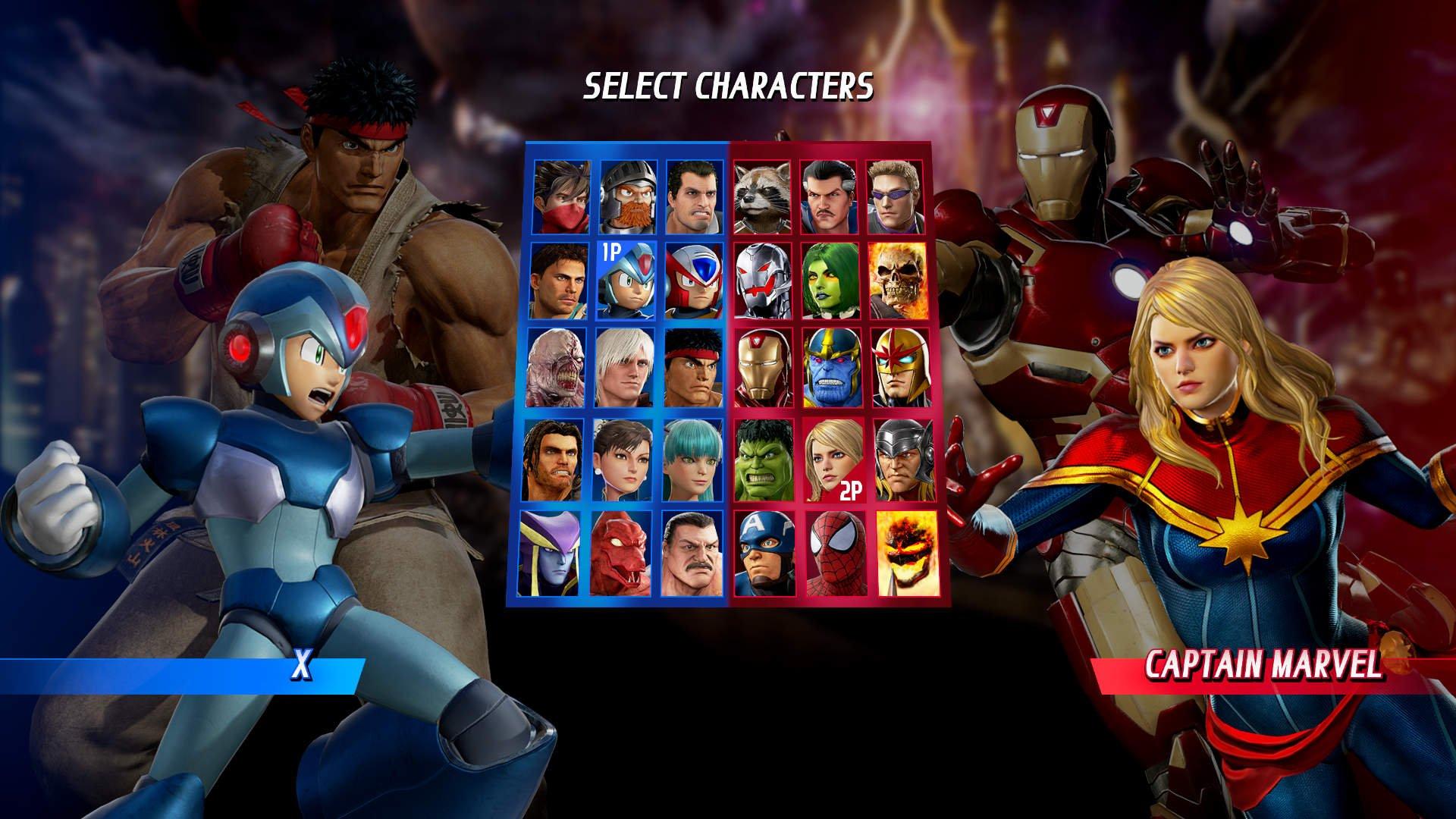 Скриншот к игре Marvel vs. Capcom: Infinite - Deluxe Edition (2017) скачать торрент RePack от xatab