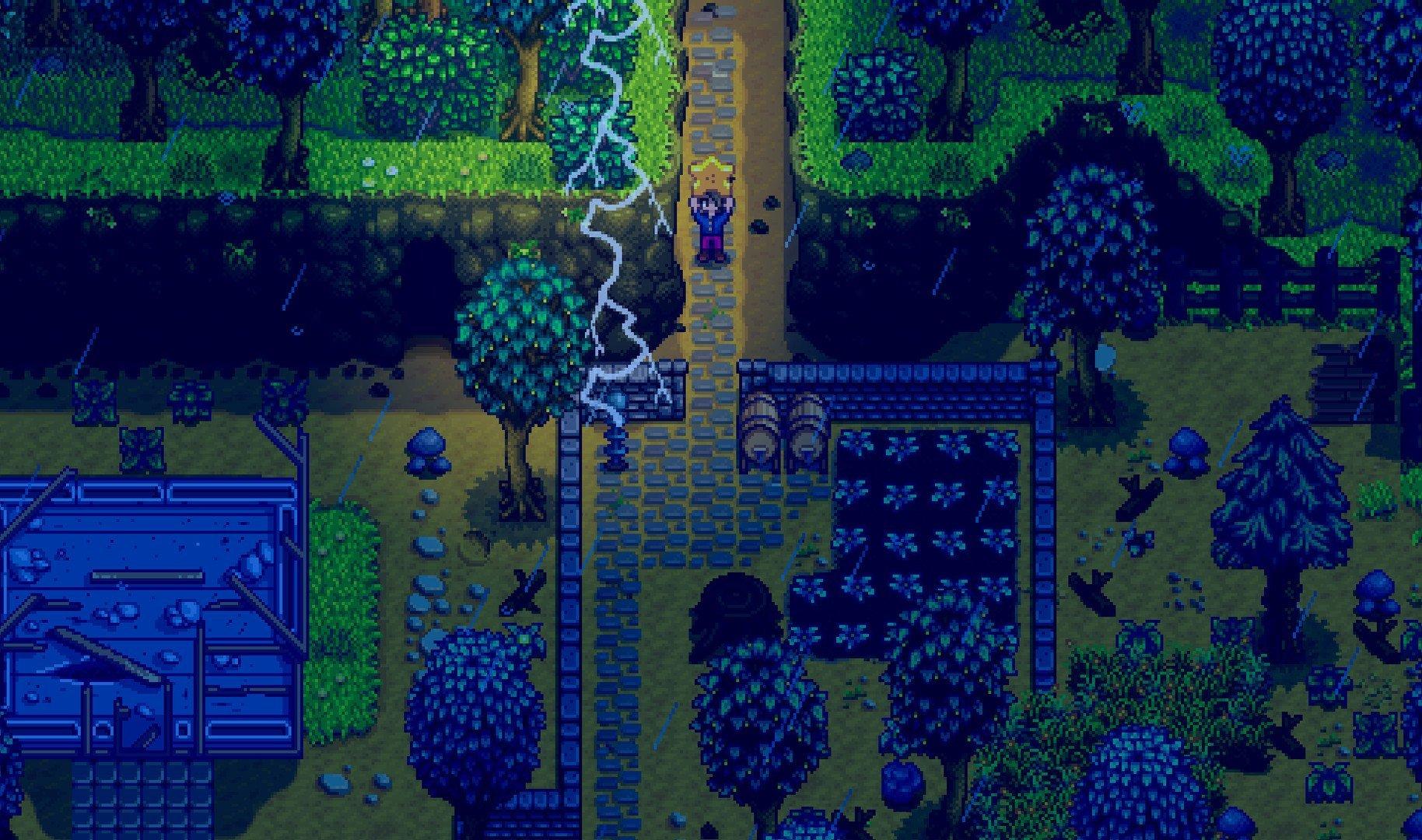 Скриншот к игре Stardew Valley v.1.5.4 [GOG] (2016) скачать торрент Лицензия