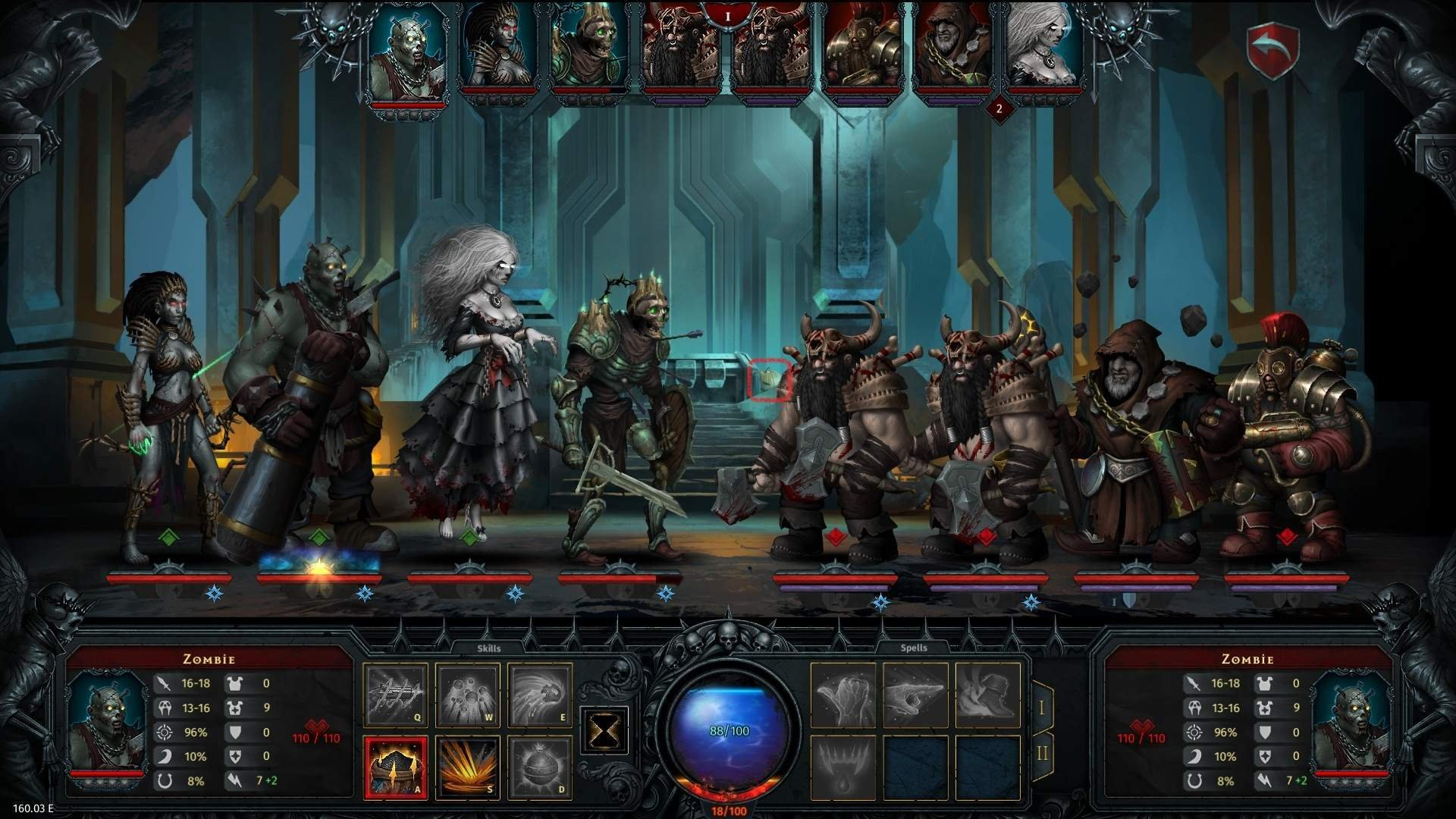 Скриншот к игре Iratus: Lord of the Dead v.181.03.00 [GOG] (2020) скачать торрент Лицензия