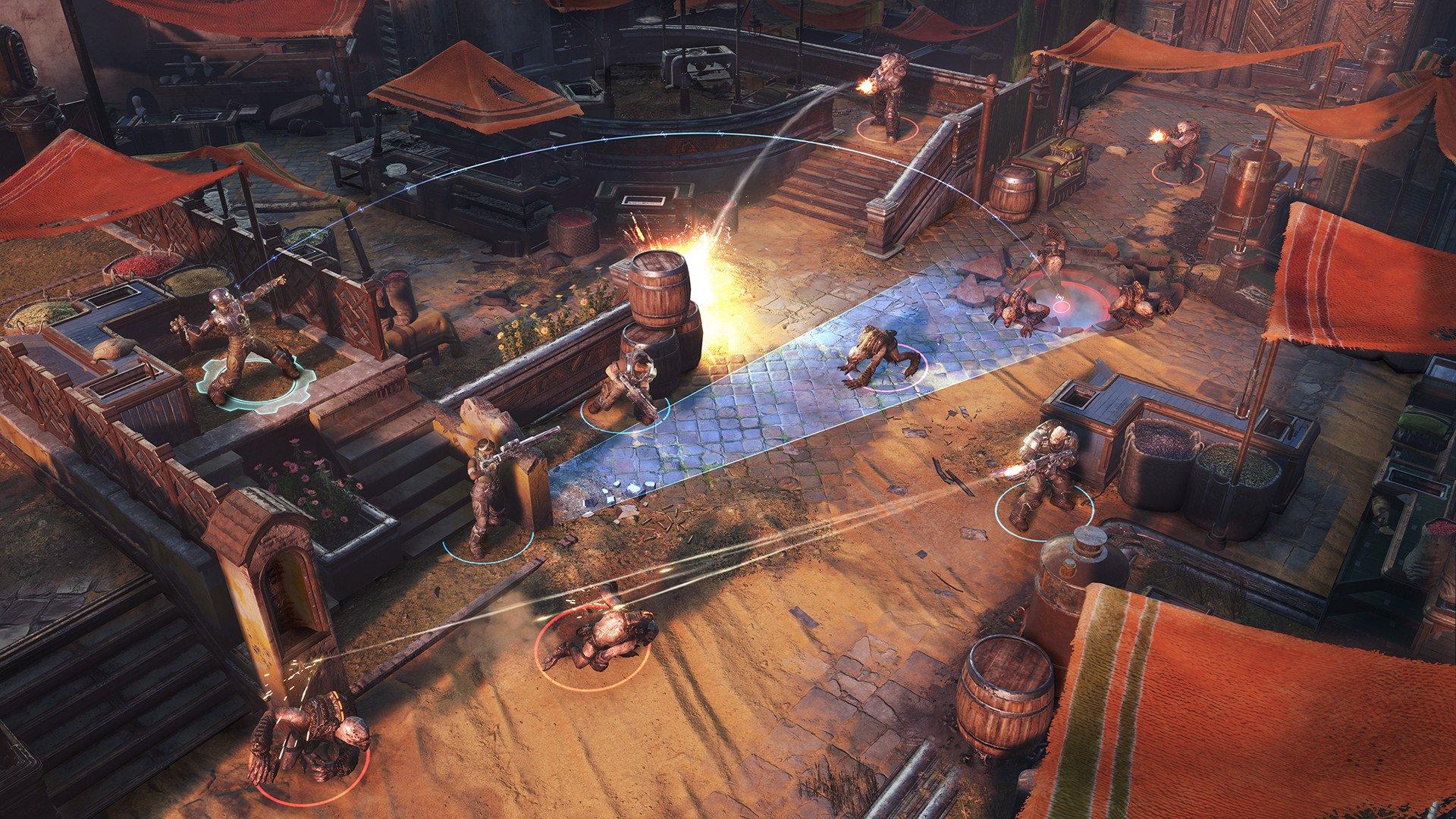 Скриншот к игре Gears Tactics [v1.0] (2020) скачать торрент скачать торрент RePack от R.G. Механики