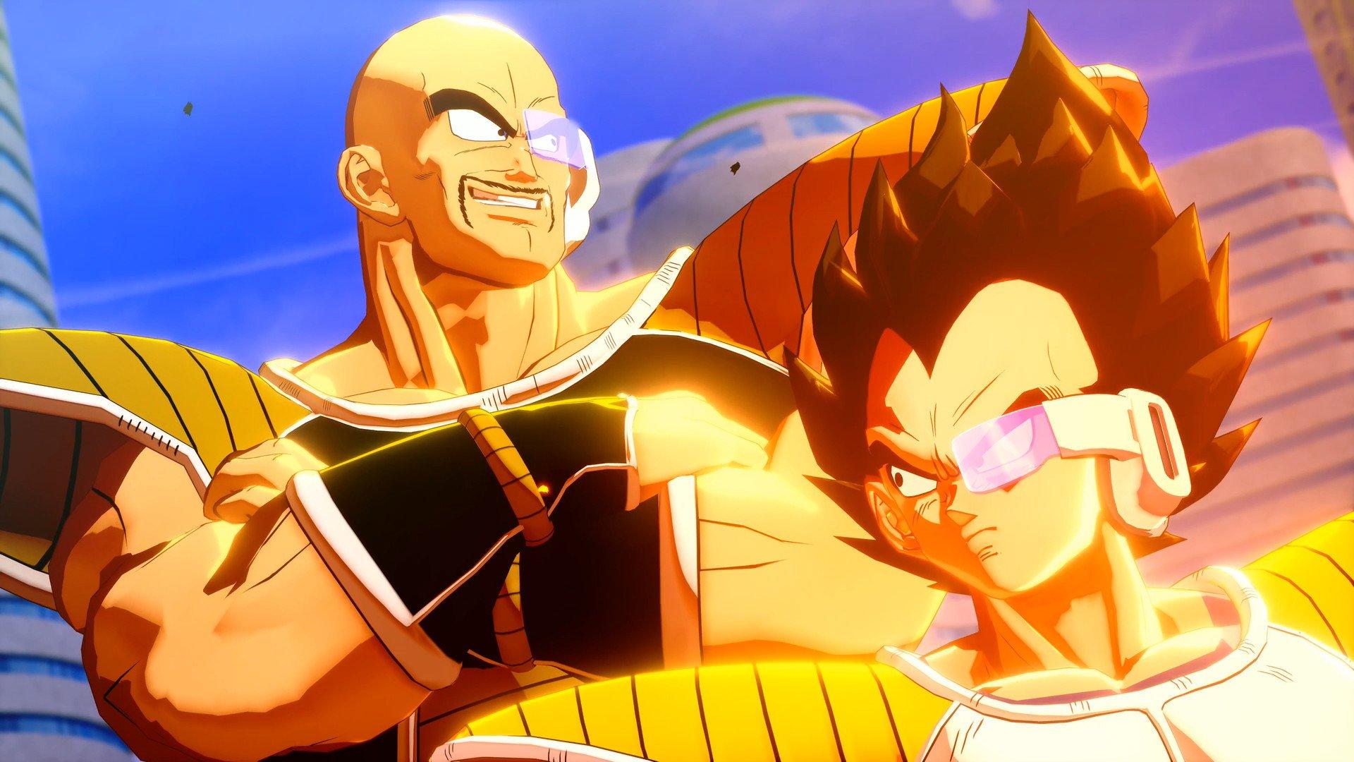 Скриншот к игре Dragon Ball Z: Kakarot [v 1.10 + DLCs] (2020) скачать торрент RePack