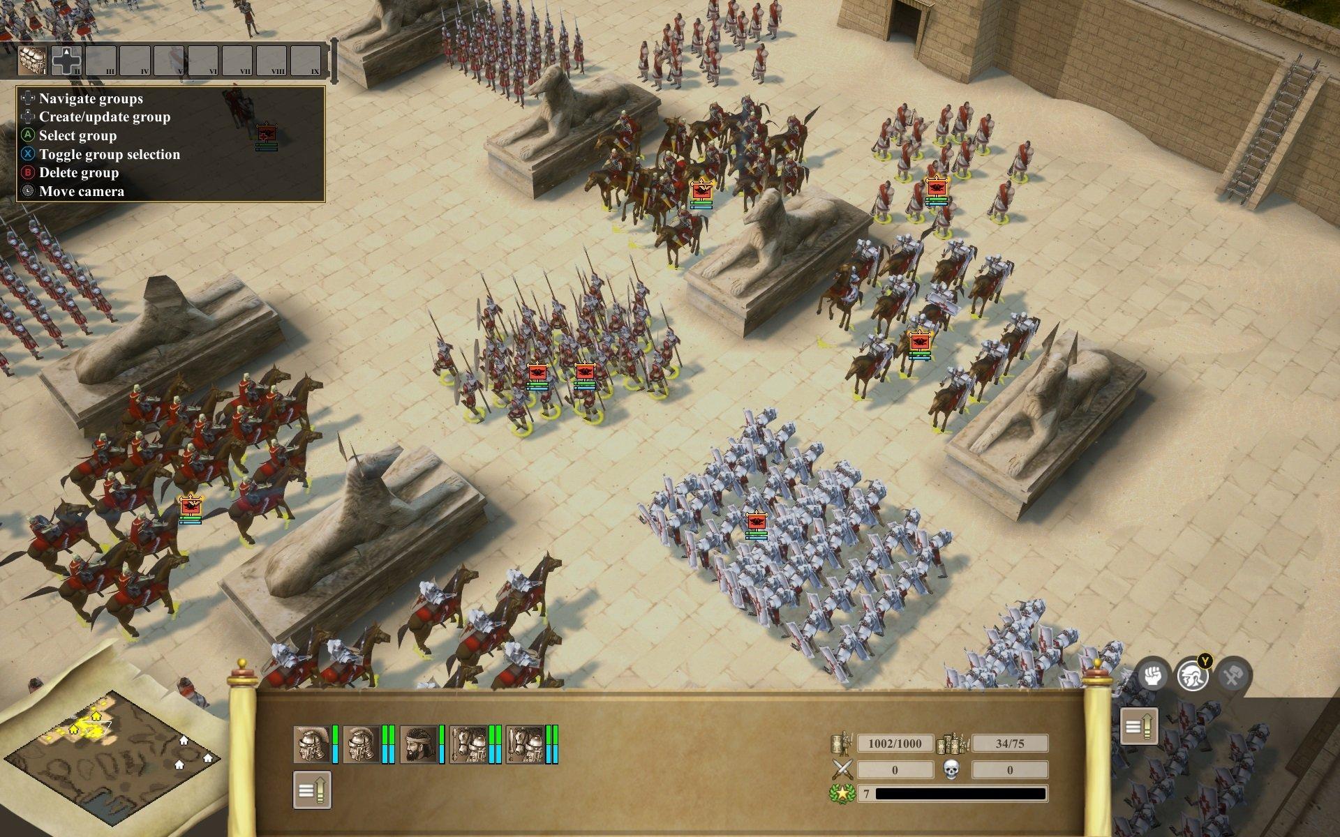 Скриншот к игре Praetorians - HD Remaster v.1.04 [GOG] (2003-2020) скачать торрент Лицензия