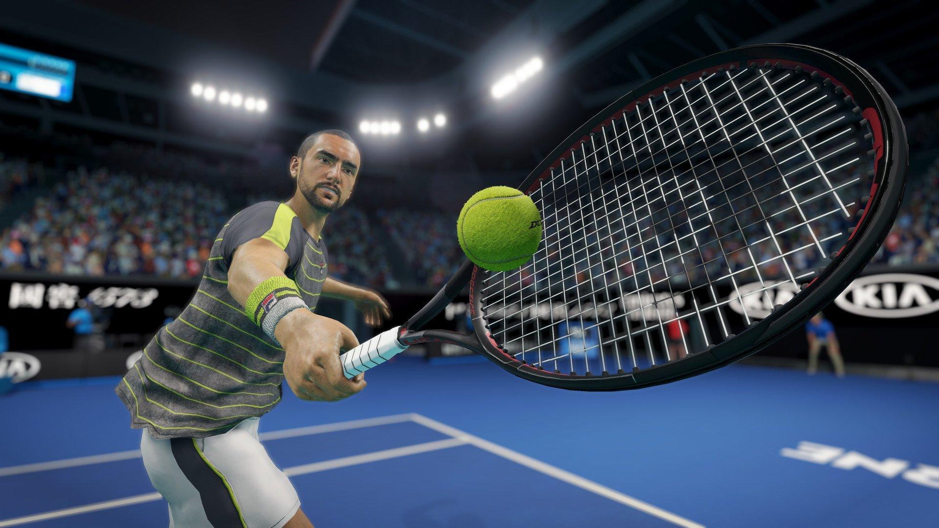 Скриншот к игре AO Tennis 2 [v. 1.0.1713 ] (2020) скачать торрент RePack
