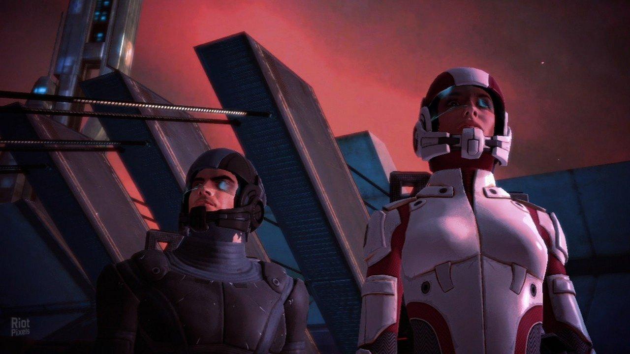 Скриншот к игре Mass Effect (2008) скачать торрент RePack