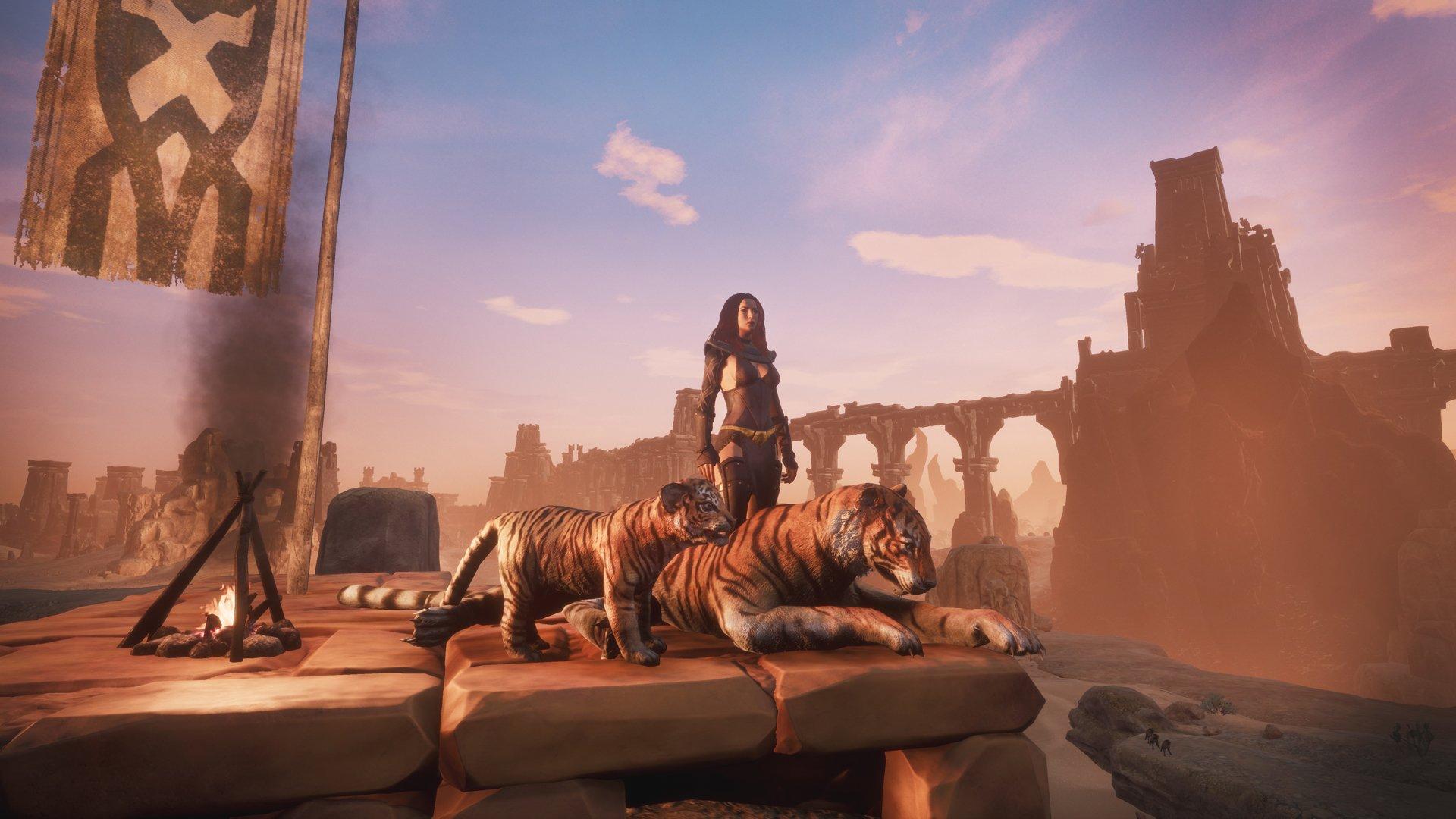 Скриншот к игре Conan Exiles [build 230672\25565+DLC] (2018) скачать торрент RePack
