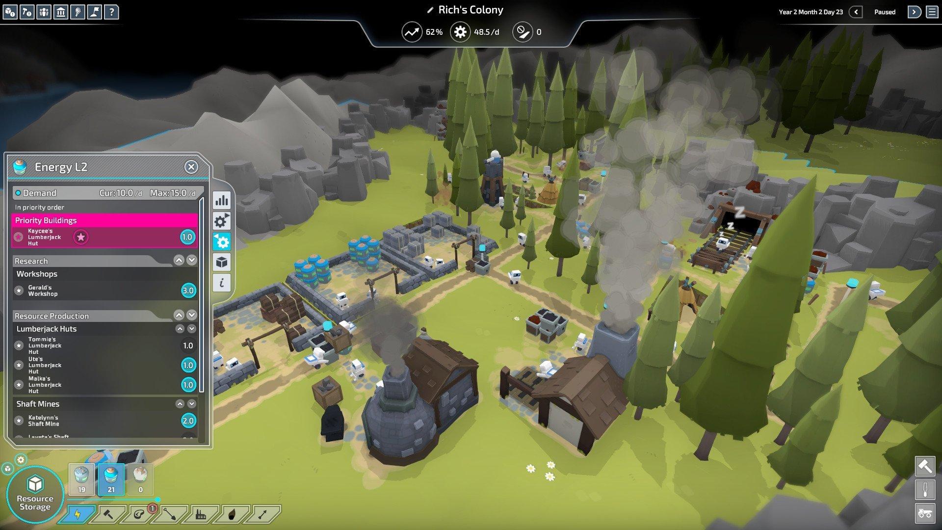 Скриншот к игре The Colonists v.1.5.10.1 [GOG] (2018) скачать торрент Лицензия