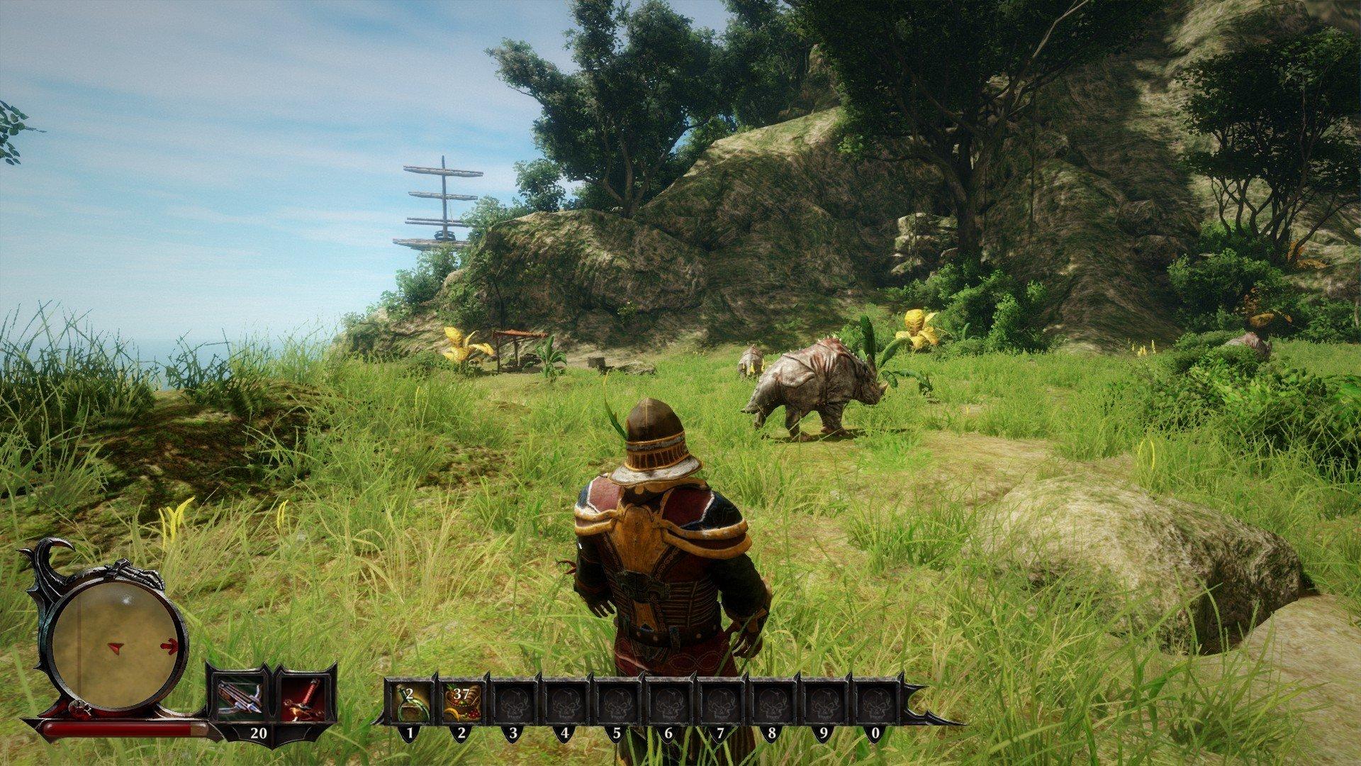 Скриншот к игре Risen 3: Titan Lords - Complete/Enhanced Edition [GOG] (2014) скачать торрент Лицензия