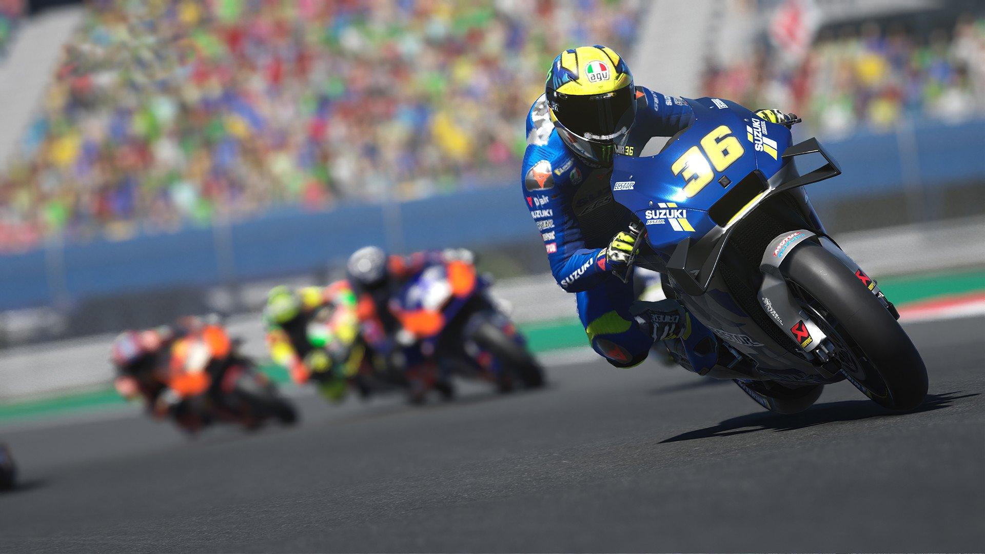 Скриншот к игре MotoGP 20 (2020) скачать торрент RePack
