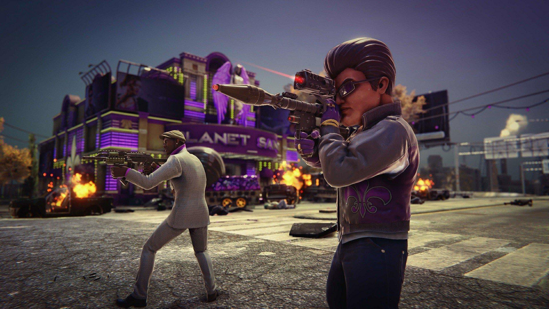 Скриншот к игре Saints Row: The Third - Remastered (2020) скачать торрент RePack
