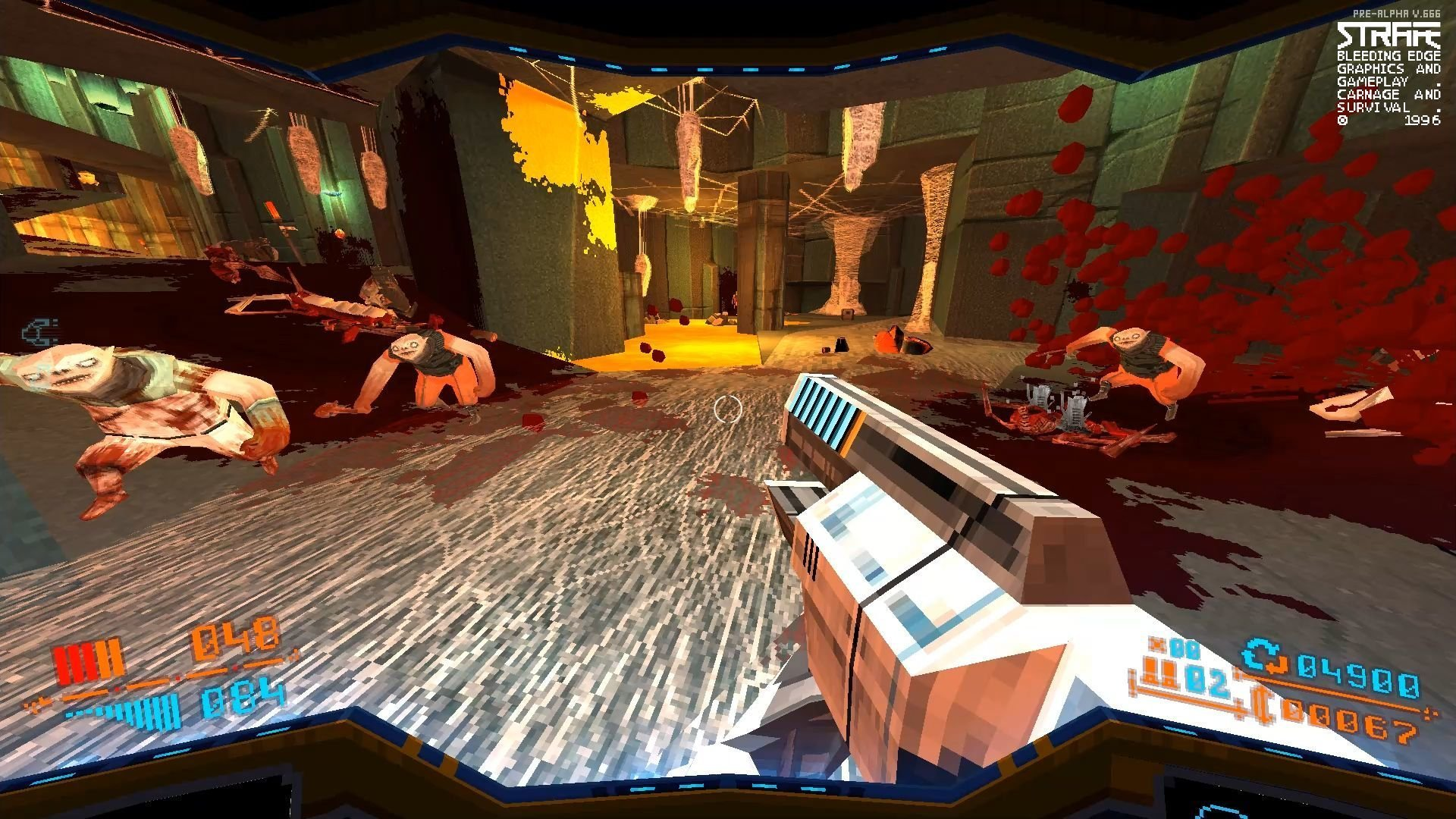 Скриншот к игре STRAFE - Gold Edition [GOG] (2017) скачать торрент Лицензия