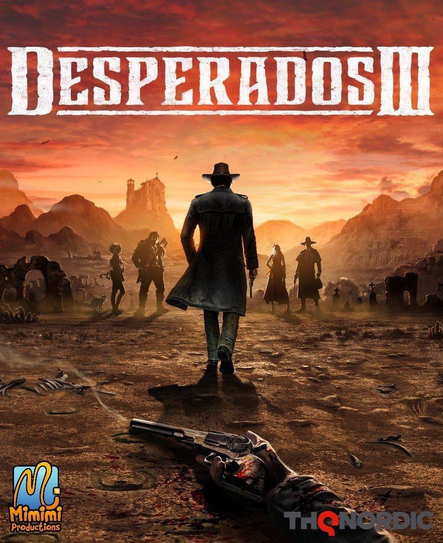 Desperados III v.1.5+2 DLC [GOG] (2020)
