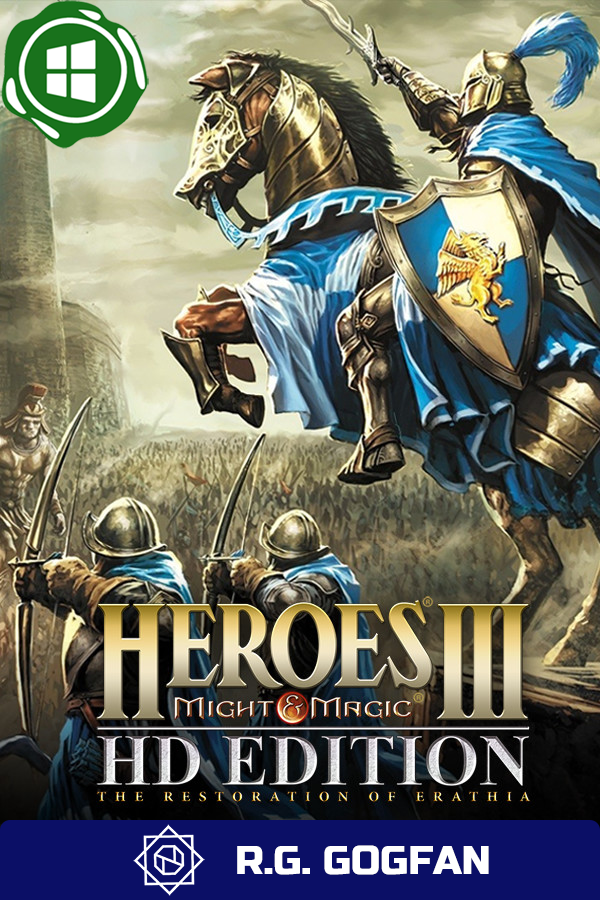 Heroes of Might and Magic 3 Complete [GOG | Windows] (ENG/RUS/MULTI4) от R.G. GOGFAN (1999) скачать торрент Лицензия
