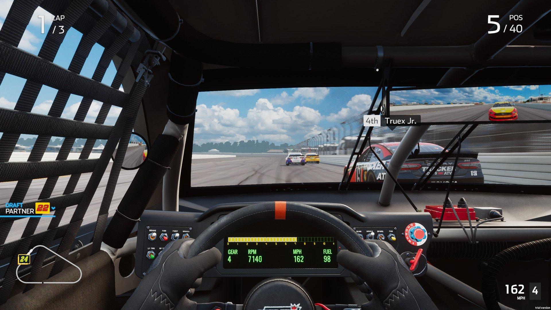 Скриншот к игре NASCAR Heat 5 (2020) скачать торрент RePack