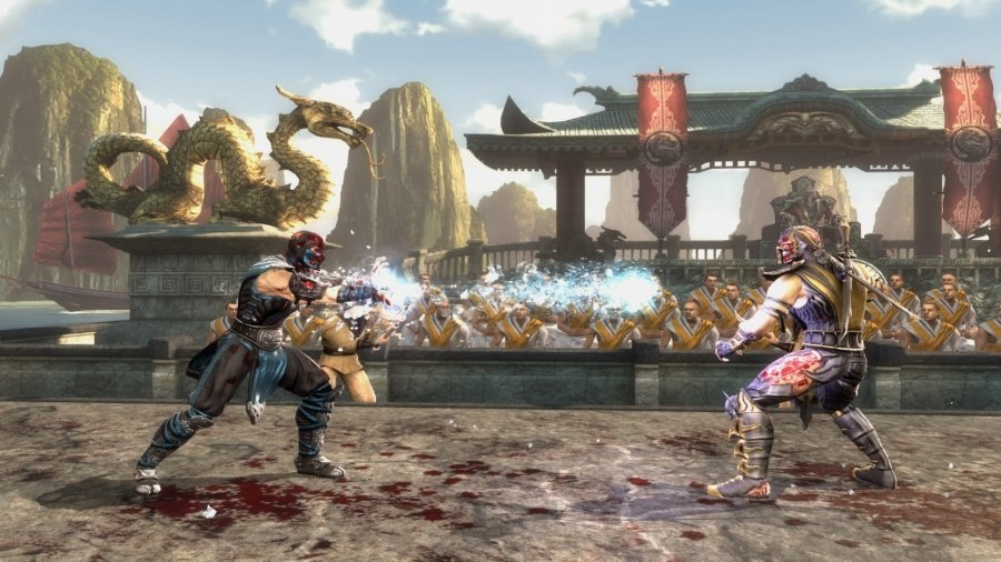 Скриншот к игре Mortal Kombat Komplete Edition (2013) скачать торрент RePack