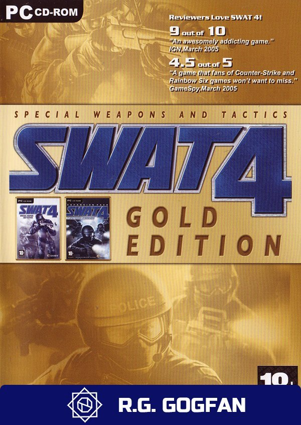 SWAT 4 Gold Edition [GOG] (ENG) от R.G. GOGFAN (2005) (2005)