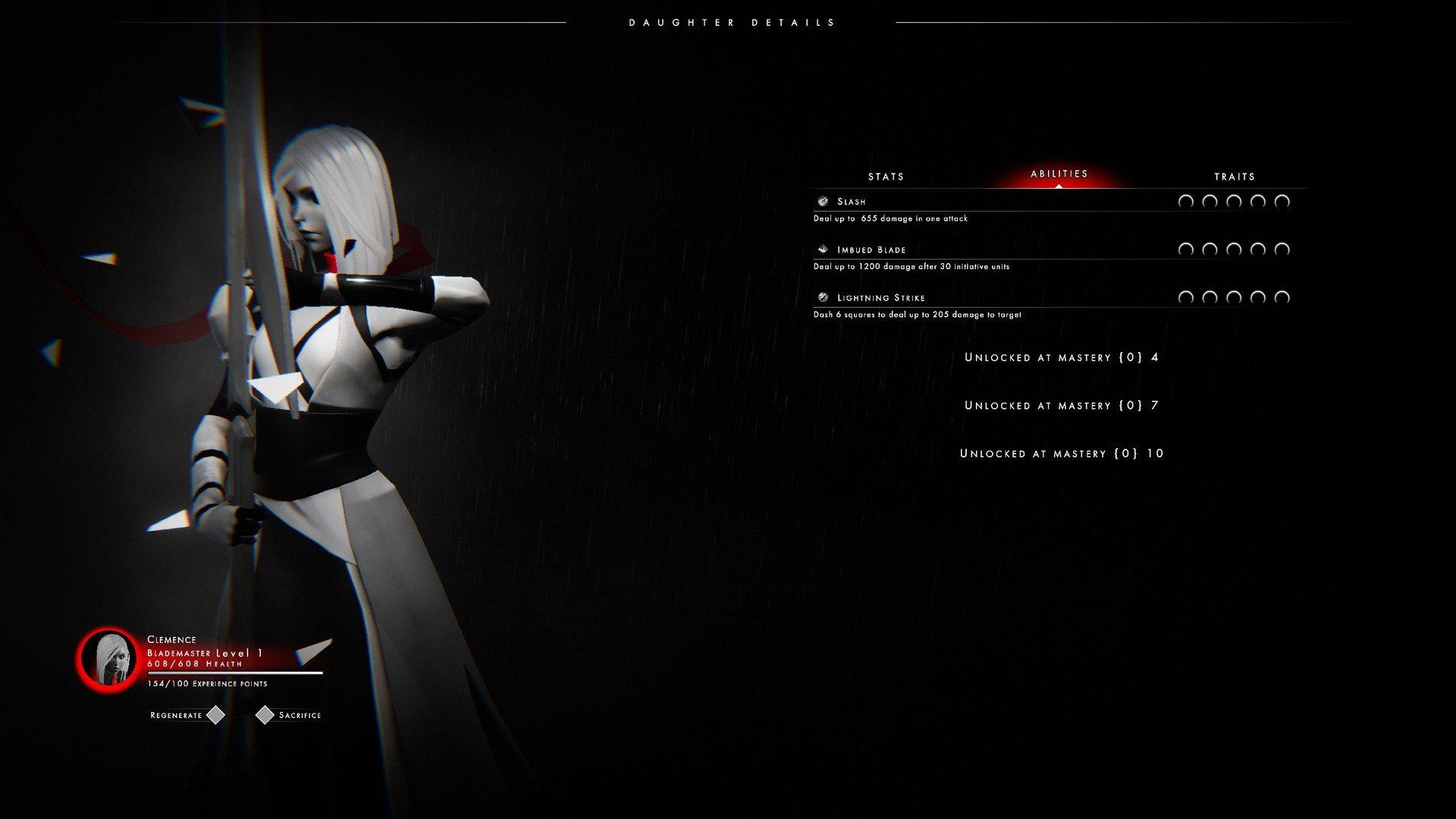 "Скриншот к игре Othercide [v 6.23 Update ""The Dream"" ] (2020) скачать торрент RePack"