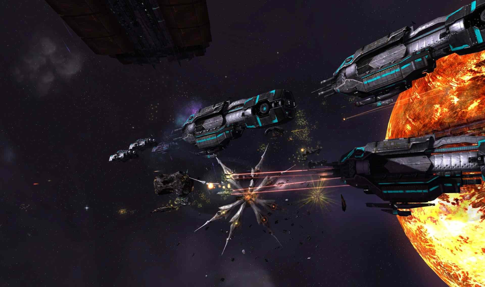 Скриншот к игре Sins of a Solar Empire - Rebellion [v 1.95 + 4 DLC] (2012) PC   RePack от R.G. Механики