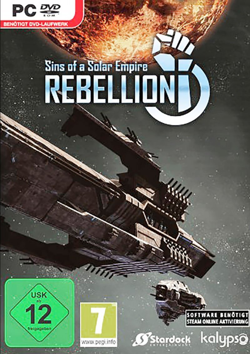 Sins of a Solar Empire - Rebellion [v 1.95 + 4 DLC] (2012) (2012)