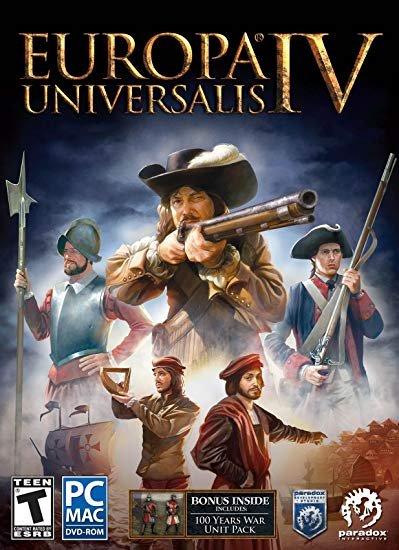 Europa Universalis IV [v 1.30.3 + DLC] (2013) скачать торрент RePack