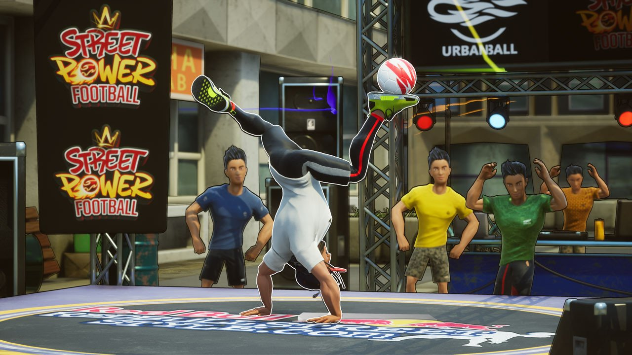 Скриншот к игре Street Power Football (2020) скачать торрент RePack