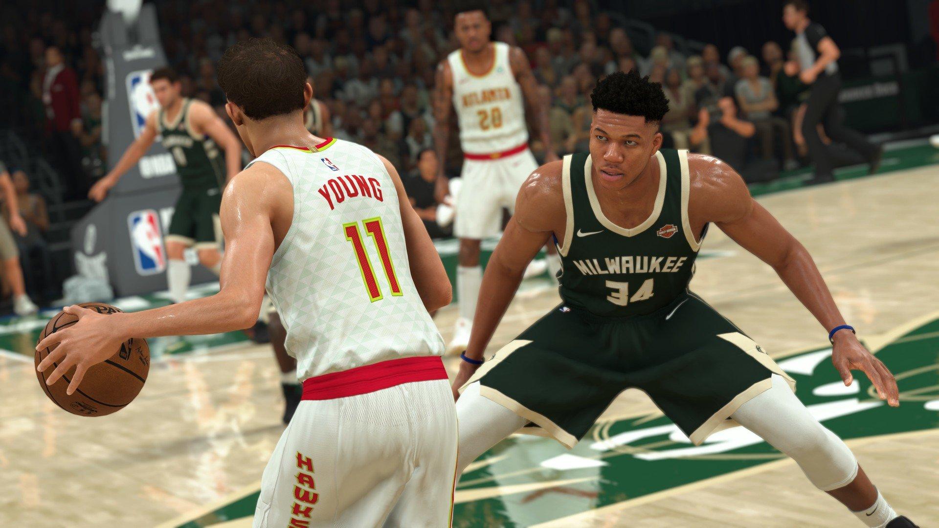 Скриншот к игре NBA 2K21 (2020) скачать торрент RePack
