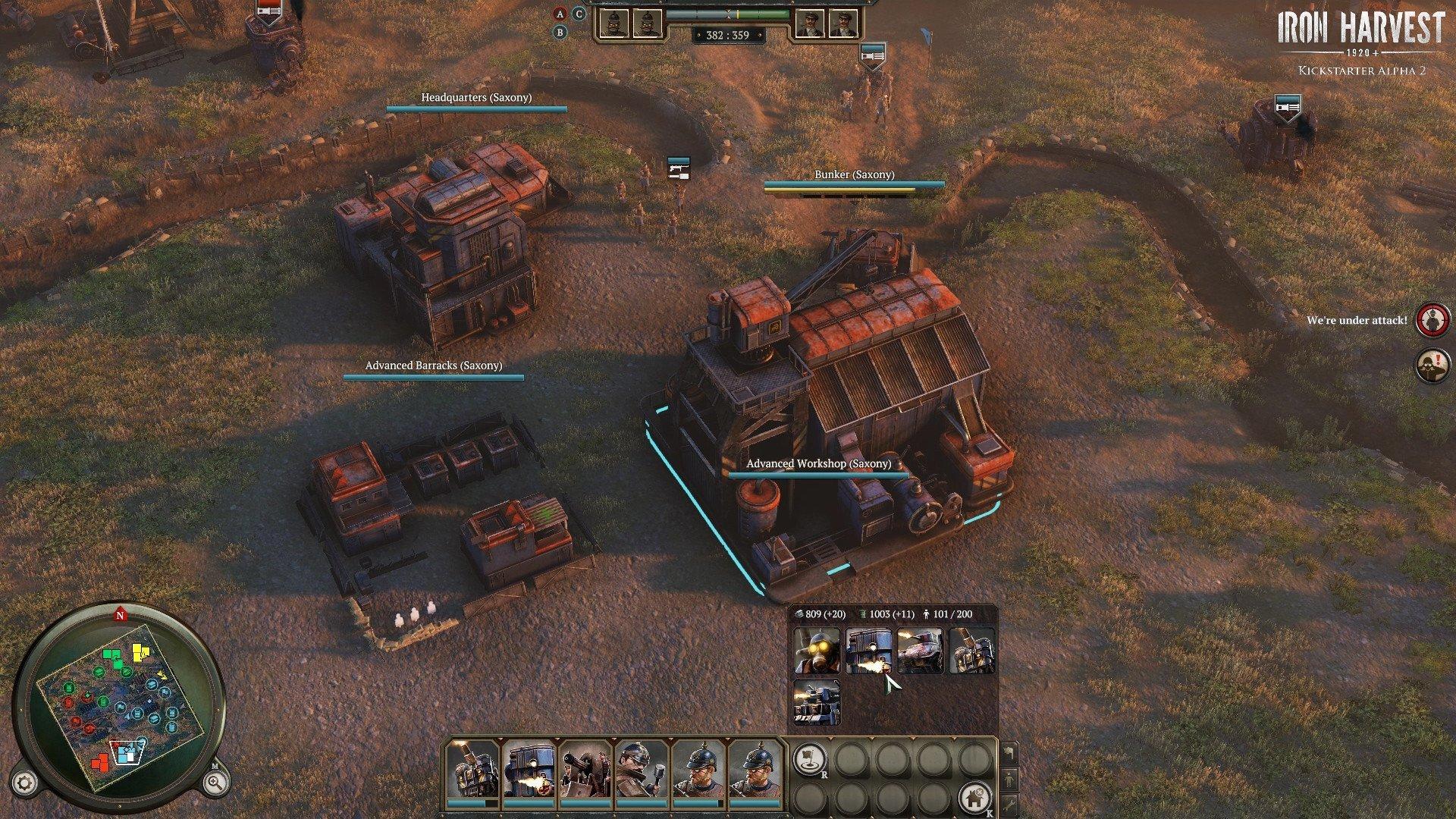 Скриншот к игре Iron Harvest (v.1.1.0.1916 rev 43270 (43500) +DLC) (2020) скачать торрент RePack от R.G. Механики