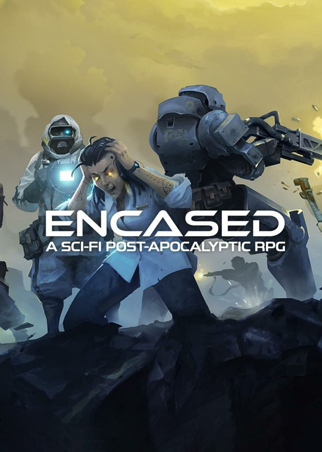 Encased: A Sci-Fi Post-Apocalyptic RPG [0.18.911.1651 (41270) | Early Access ] (2019) (2019)