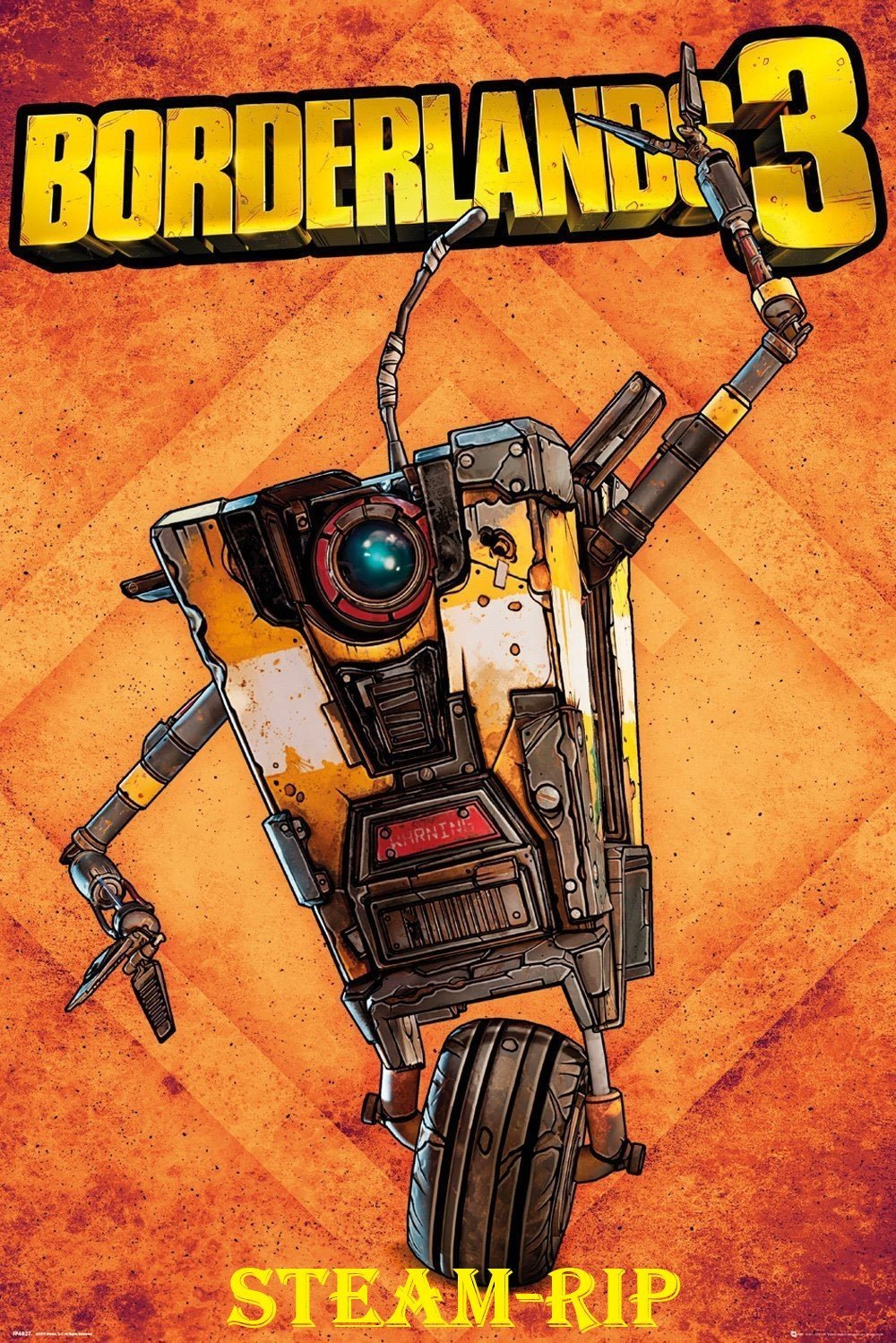 Обложка к игре Borderlands 3 [Steam-Rip] (2019) Лицензия