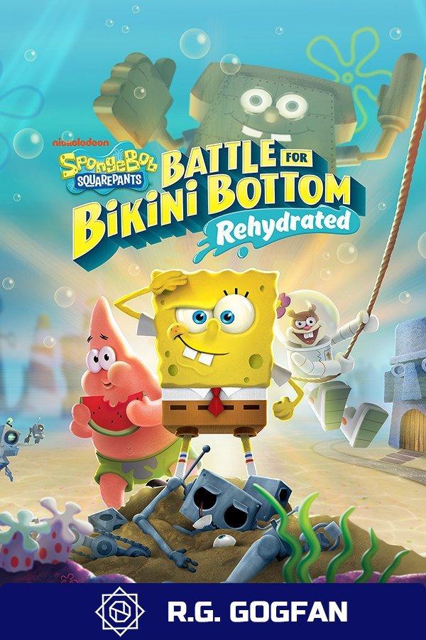SpongeBob SquarePants: Battle for Bikini Bottom Rehydrated v.1.03 [GOG] (2003-2020)