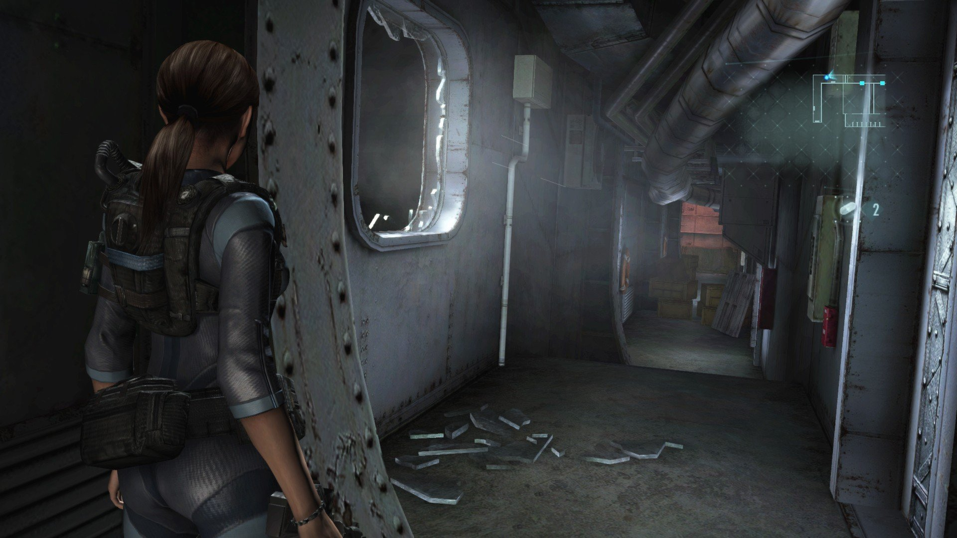 Скриншот к игре Resident Evil: Revelations [v 1.0u5 + DLC] (2013) скачать торрент RePack