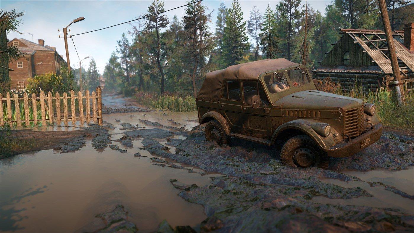 Скриншот к игре SnowRunner - Premium Edition [v. 8.0+DLC] (2020) скачать торрент RePack от R.G. Механики
