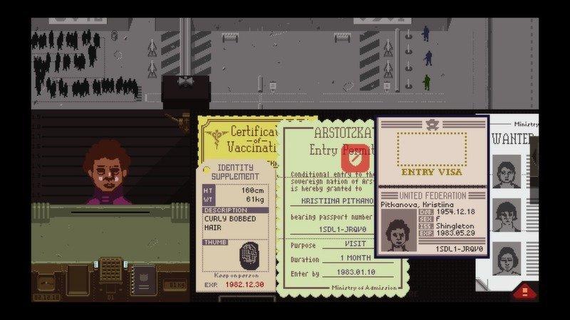 Скриншот к игре Papers, Please v.1.2.71 [GOG] (2013) скачать торрент Лицензия