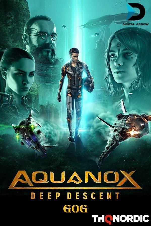 AquaNox Deep Descent - Collector's Edition v.1.5 [GOG] (2020) Лицензия