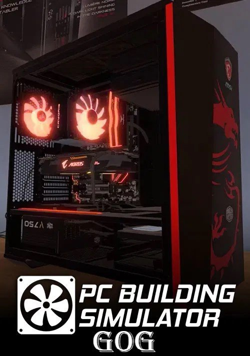 Обложка к игре PC Building Simulator v.1.10.5 [GOG] (2019) Лицензия