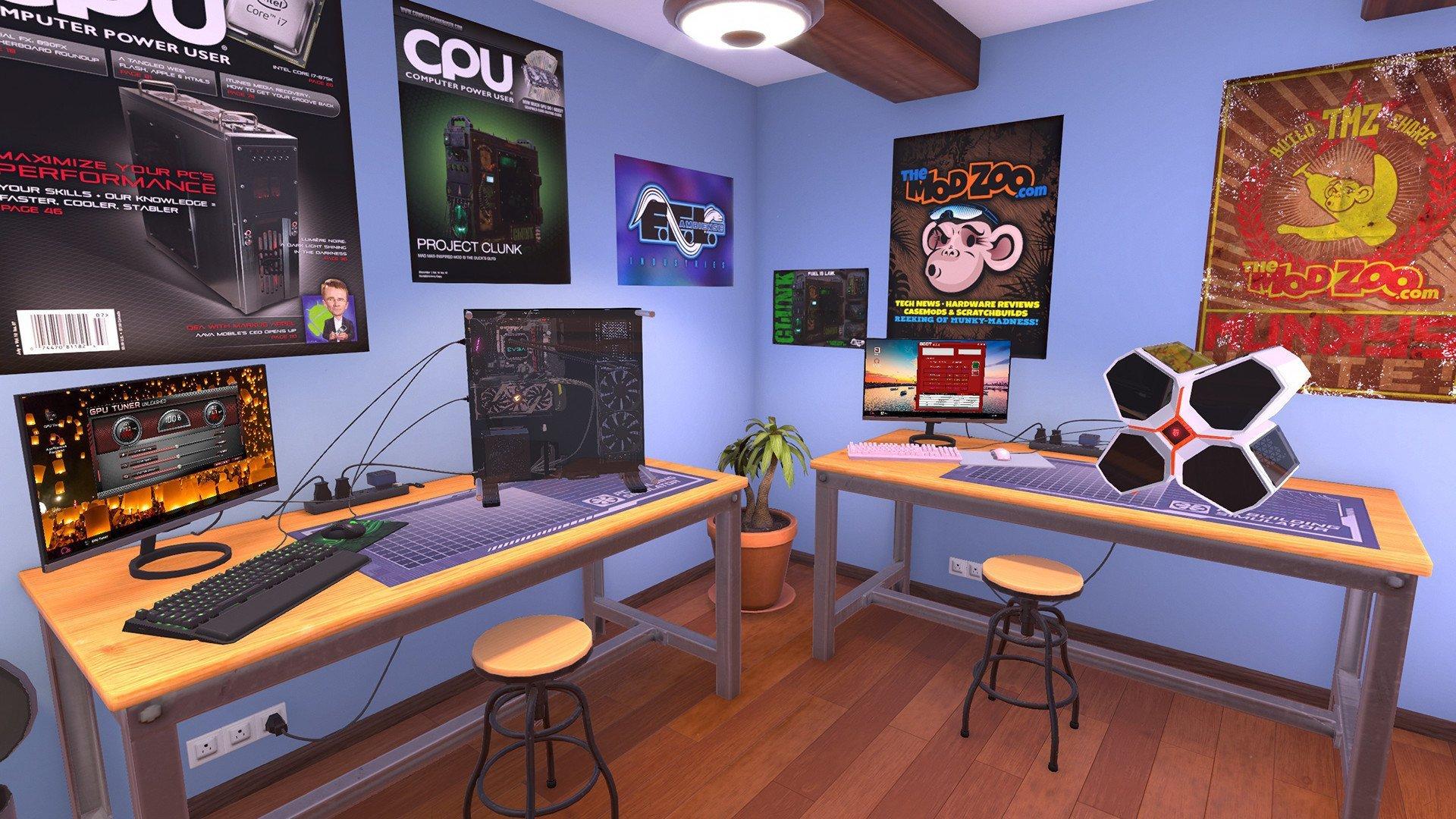 Скриншот к игре PC Building Simulator v.1.10.5 [GOG] (2019) скачать торрент Лицензия