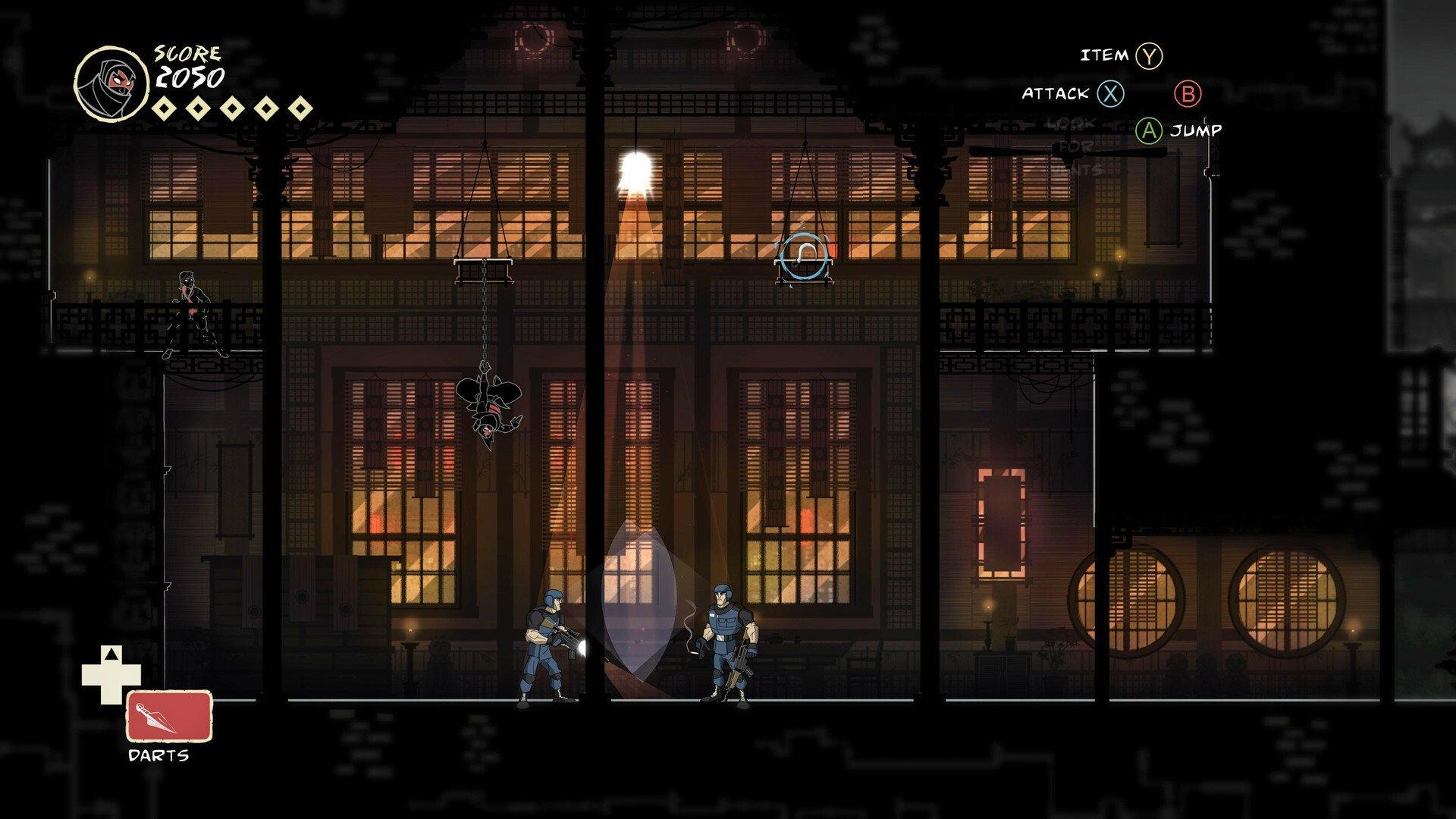 Скриншот к игре Mark of the Ninja: Remastered [GOG] (2012-2018) скачать торрент Лицензия