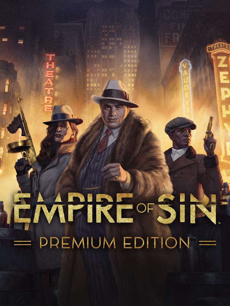 Empire of Sin - Premium Edition [Portable] (2020) Лицензия (2020)