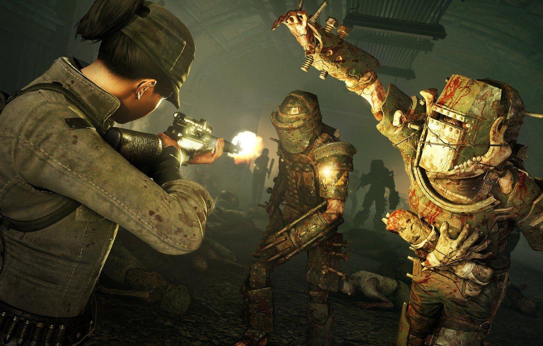 Скриншот к игре Zombie Army 4: Dead War - Super Deluxe Edition [v 2020.10.21.973201 + DLCs] (2020) скачать торрент RePack от R.G. Механики