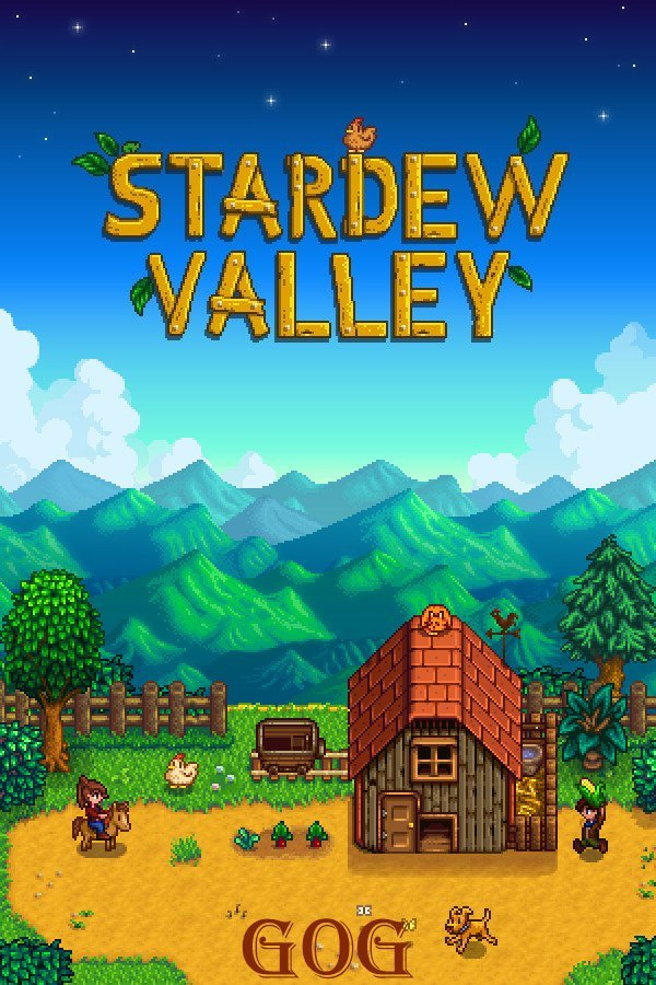Обложка к игре Stardew Valley v.1.5.4 [GOG] (2016) Лицензия