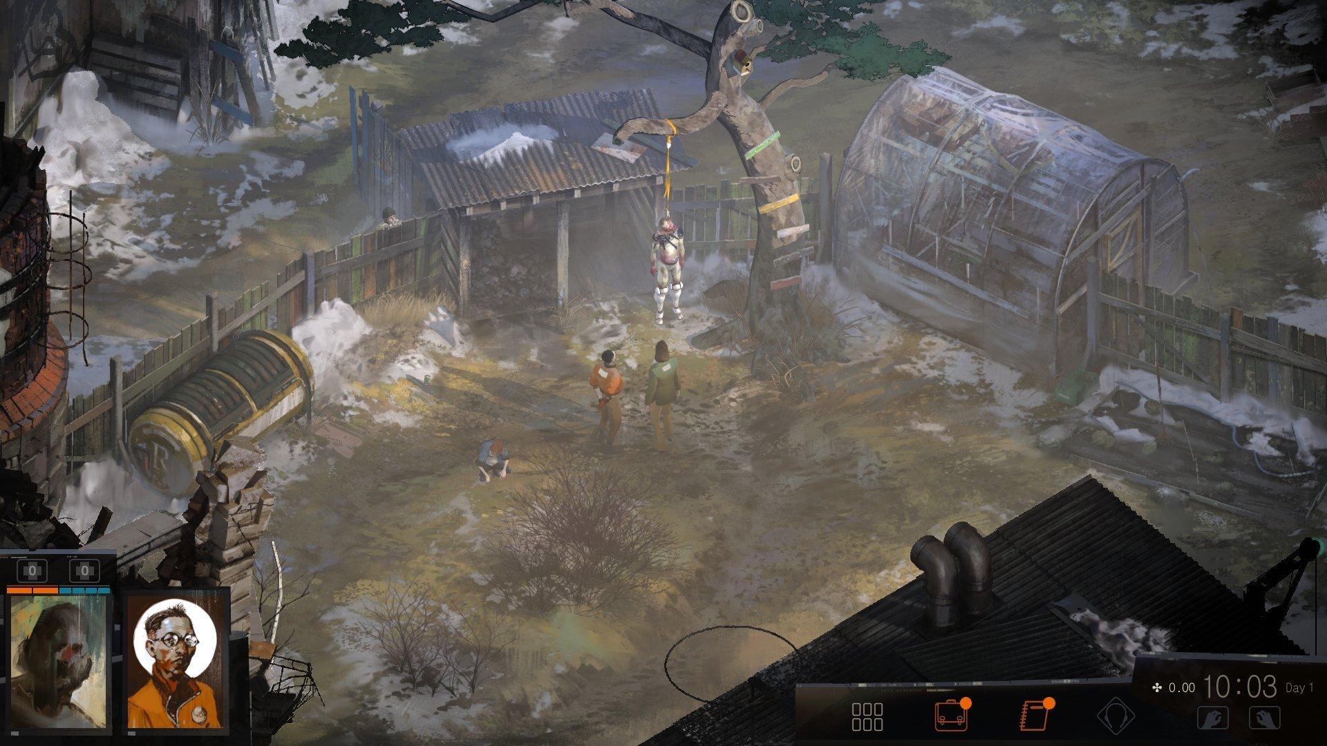 Скриншот к игре Disco Elysium v.8487d973 [GOG] (2019) скачать торрент Лицензия