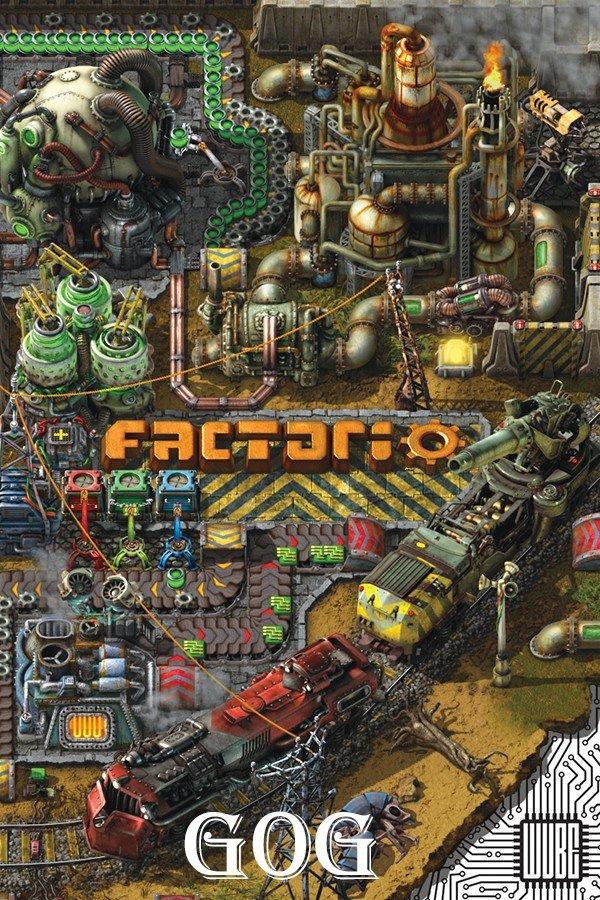 Factorio v.1.1.37 (2020) Лицензия (2020)