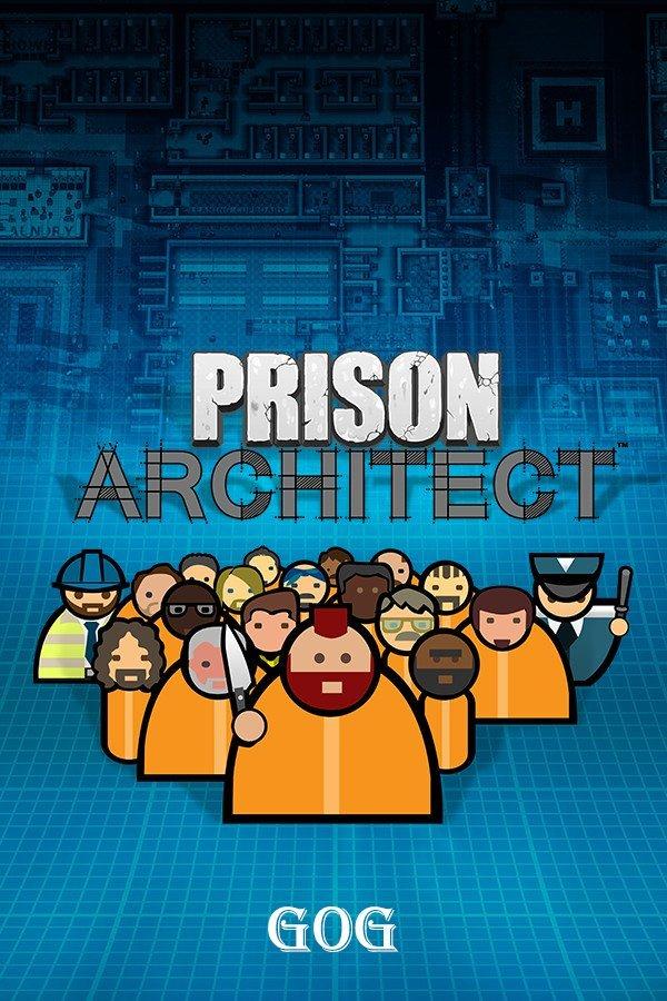 Обложка к игре Prison Architect (r5352) [GOG] (2015) Лицензия