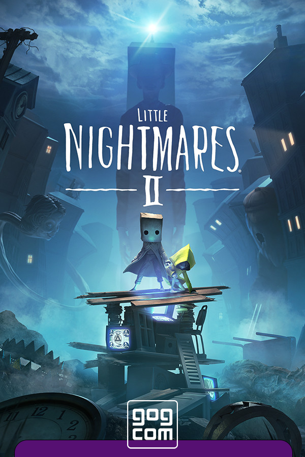 Обложка к игре Little Nightmares II - Deluxe Edition v.5.7 [GOG] (2021) Лицензия