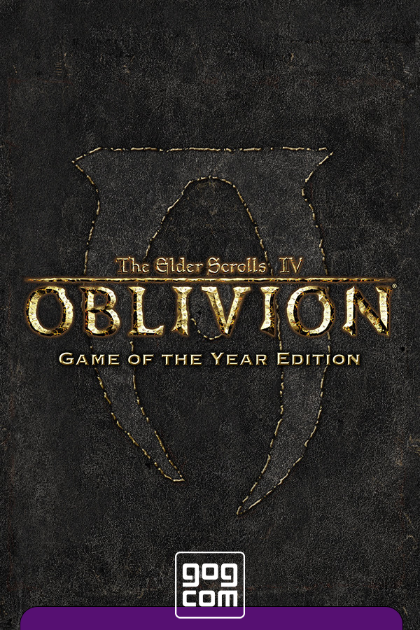 Обложка к игре The Elder Scrolls IV: Oblivion Game of the Year Edition Deluxe v.1.2.0416 CS (12788) [GOG] (2007) Лицензия
