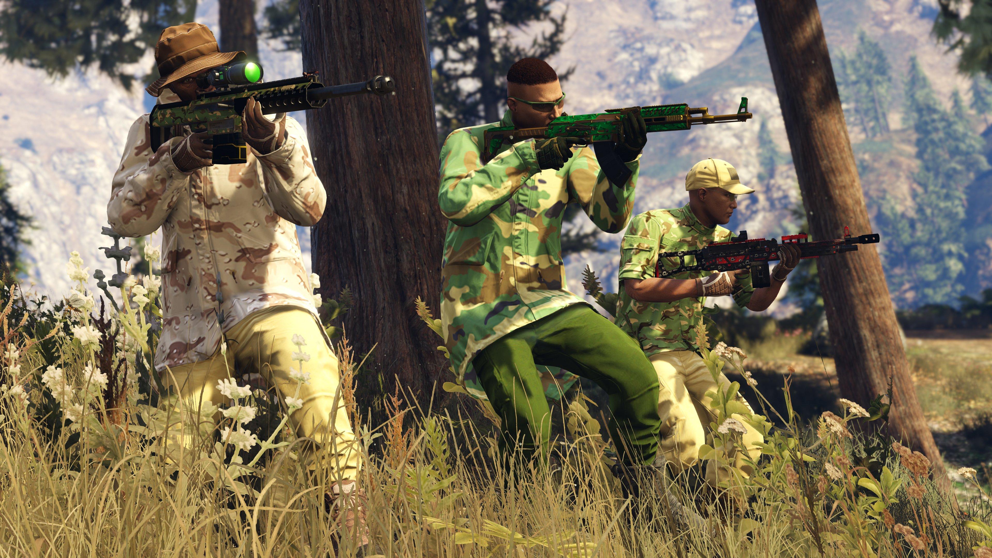 Скриншот к игре Grand Theft Auto V (GTA 5) [v1.0.1180.1 (SP)/1.41]  (2015) PC | RePack от R.G. Механики